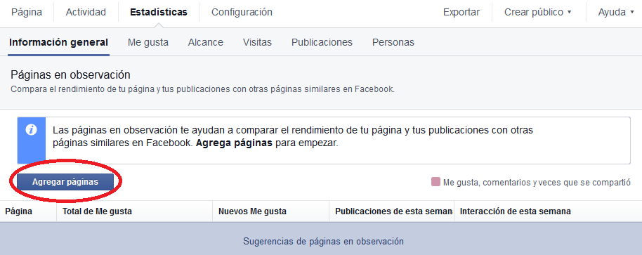 cómo publicar en Facebook