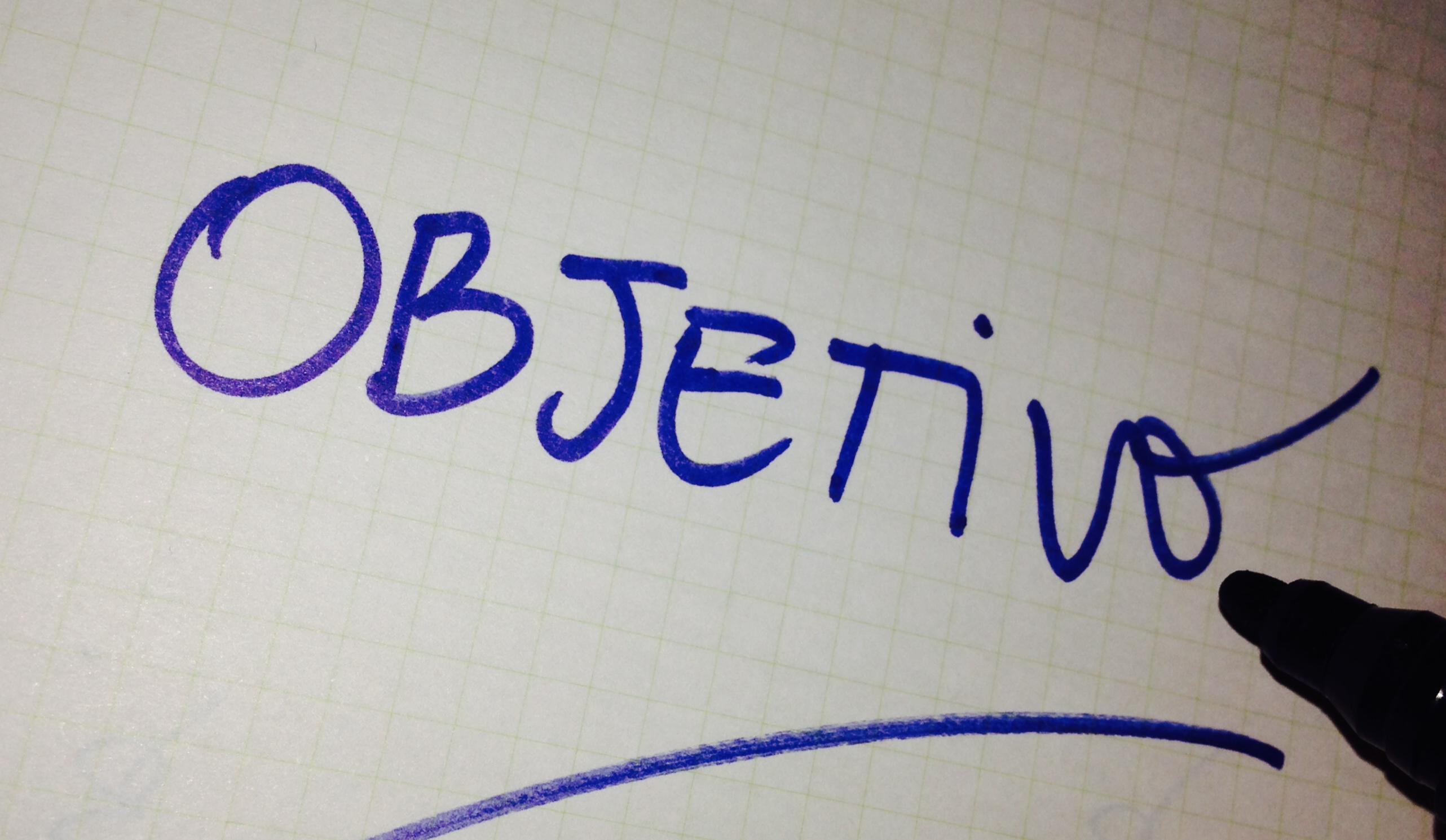 Atrévete: define tu objetivo
