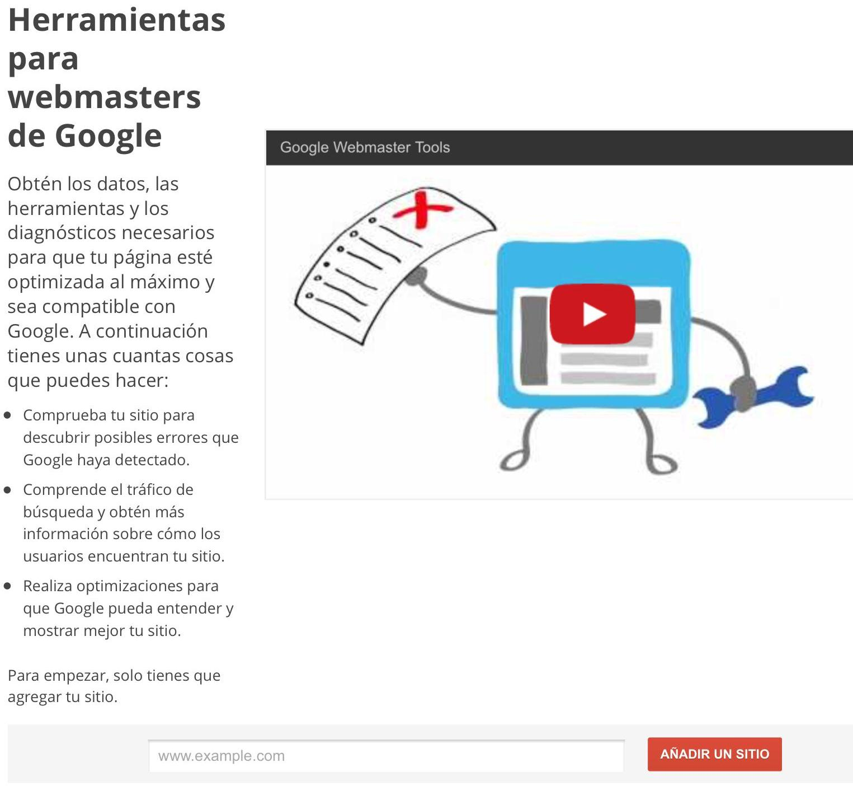 Cómo verificar web en Webmasters de Google