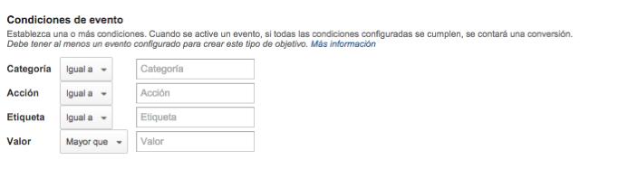 Creación de eventos onClick en Google Analytics