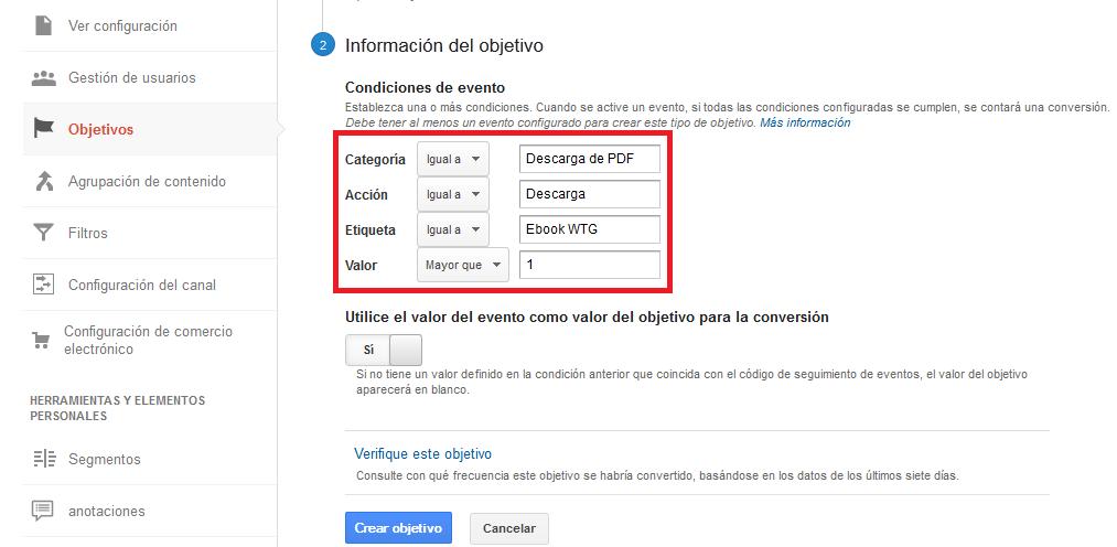 Diagrama de flujo de visitantes en Google Analytics