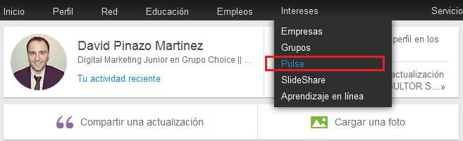 Cómo acceder a la plataforma PULSE de LinkedIn