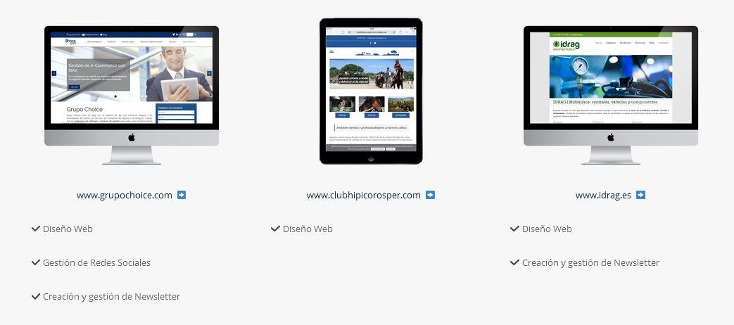 Porftolio: Diseño Web