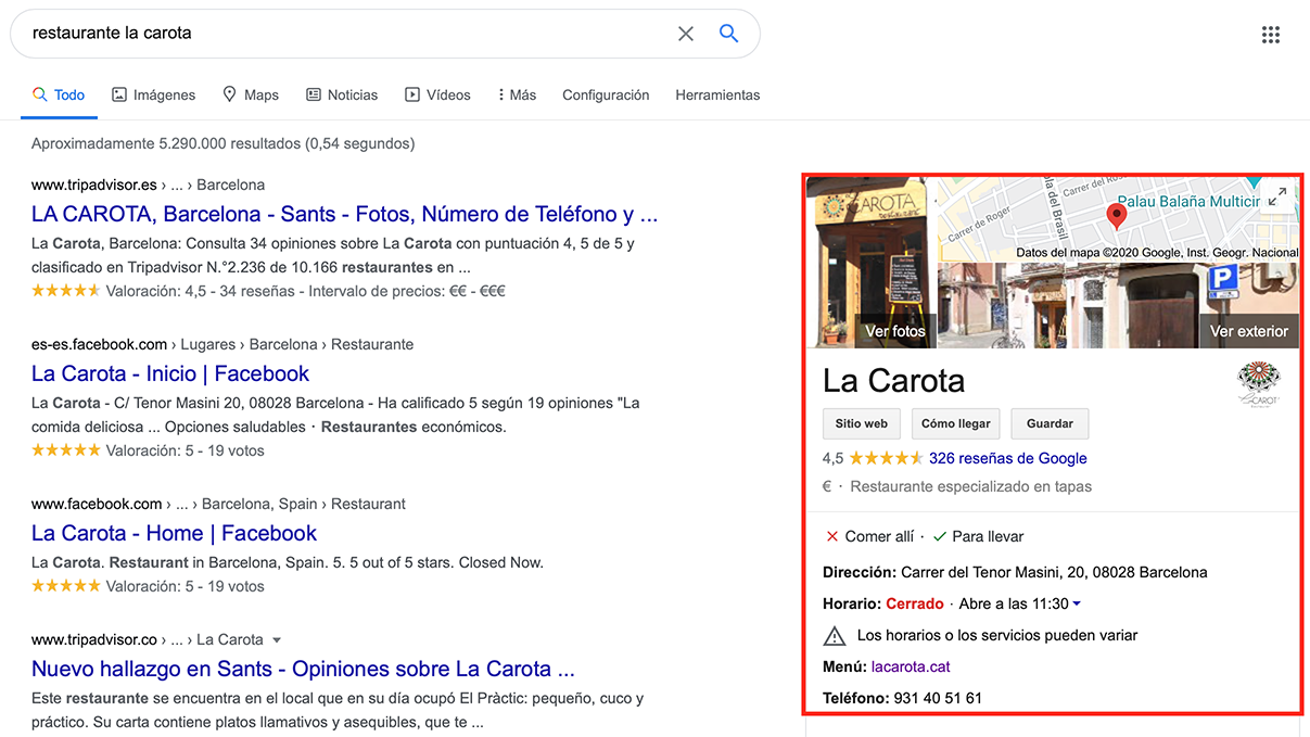 Cómo aparecer en Google My Business