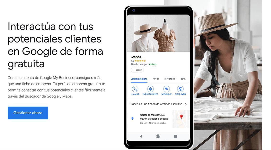 Cómo crear la ficha de Google My Business para mi empresa