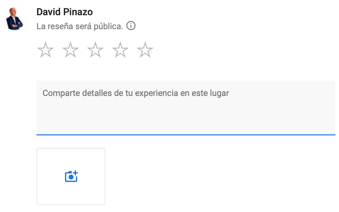 Cómo escribir una reseña en Google My Business
