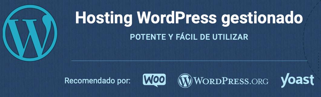 Hosting especial WordPress de SiteGround