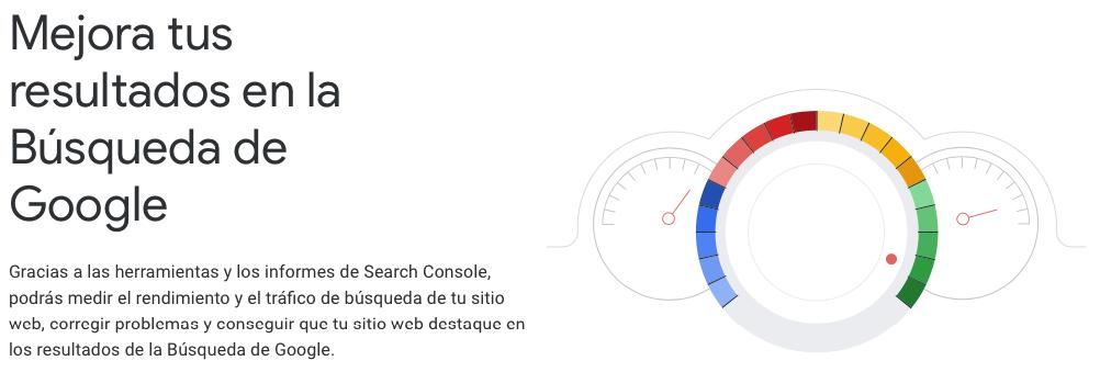 Agregar el sitio web a Google Search Console