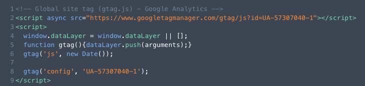 Cómo insertar el código de seguimiento de Google Analytics en DIVI