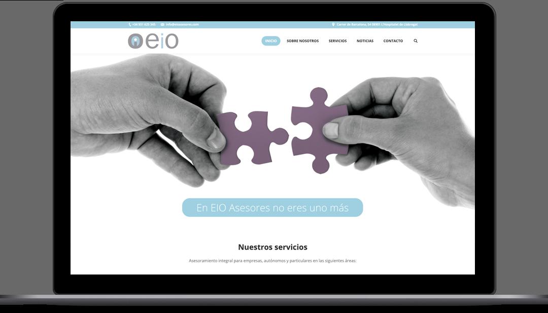 Diseño Web EIO Asesores