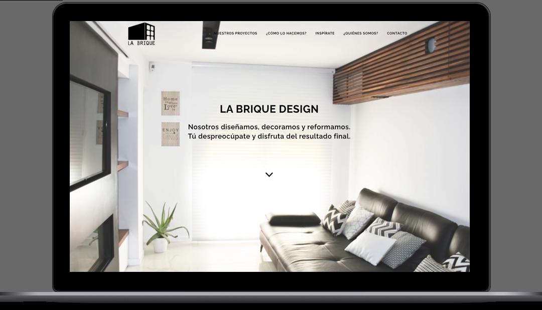 Diseño Web La Brique Design