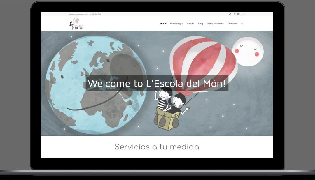 Diseño Web L'Escola del Món