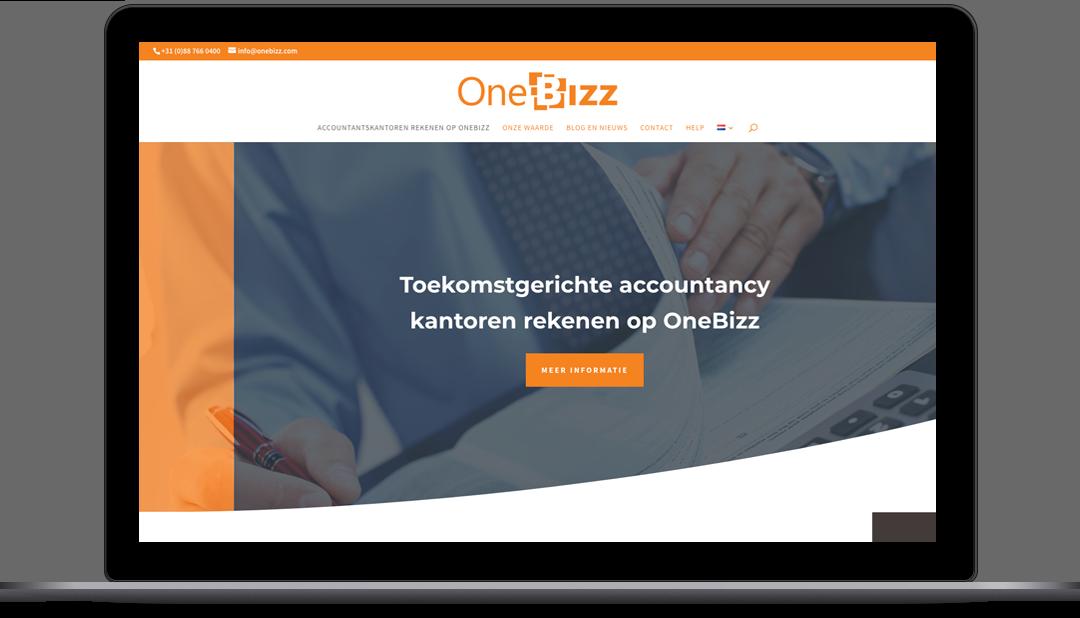 Diseño Web OneBizz de Grupo Choice
