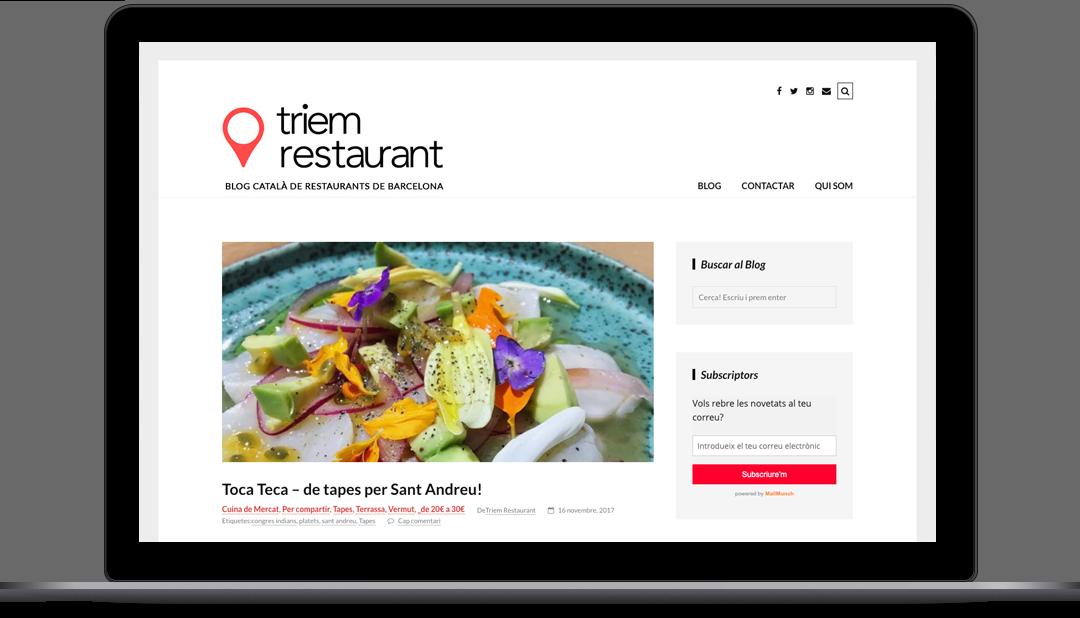 Webmaster Triem Restaurant