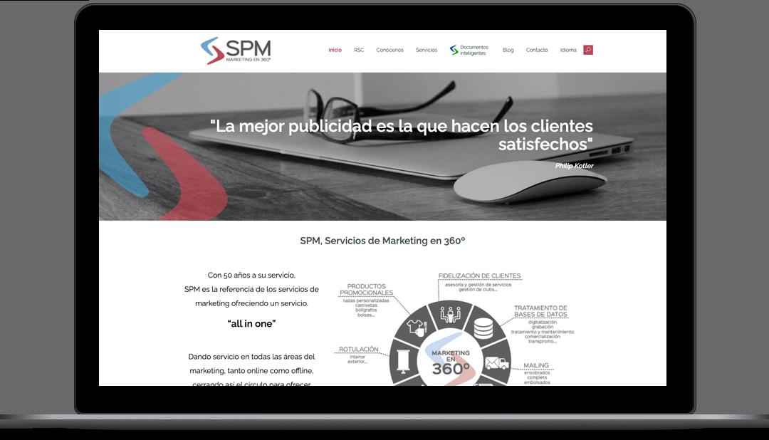 Webmaster SPM 360º