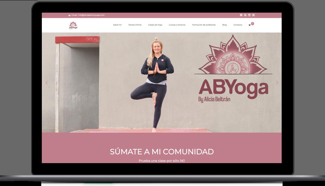Webmaster Centro de Yoga Alicia Beltrán